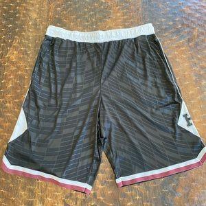 Harvard Basketball Black Shorts